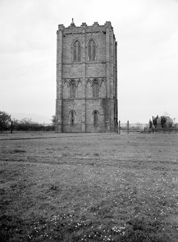 View of tower from W.
