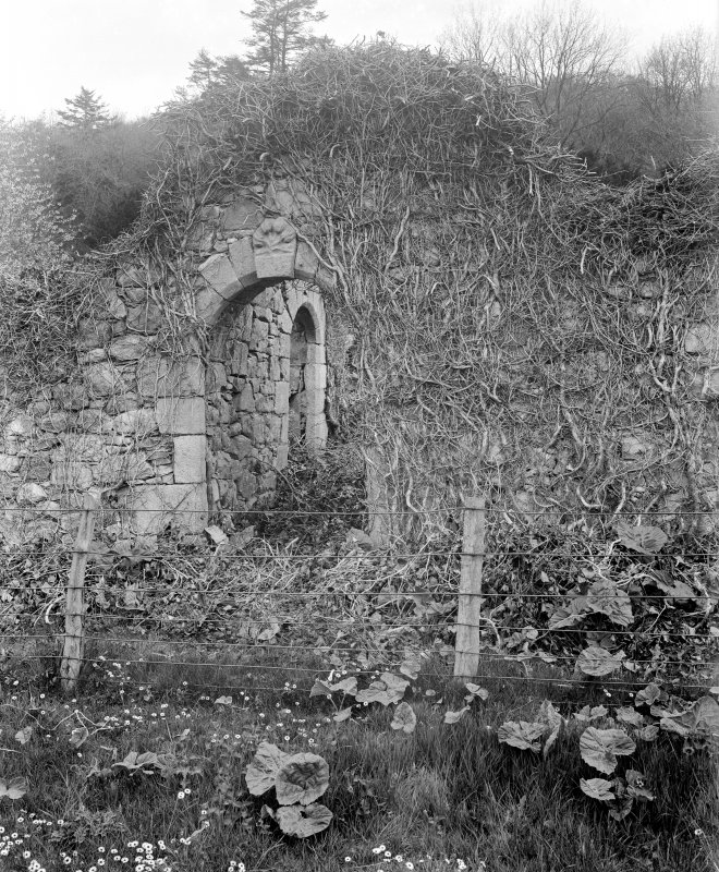 View of doorway to Abbot's Lodging.