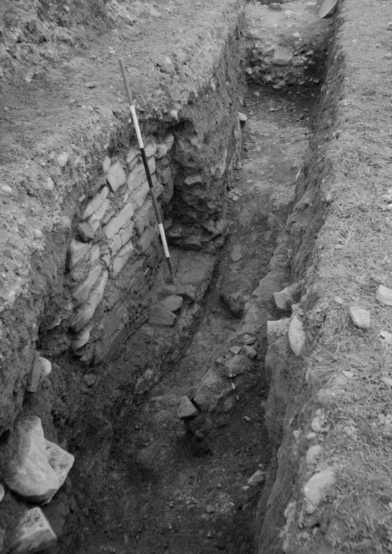 Excavation photograph of Dalswinton and Bankhead Roman Forts.