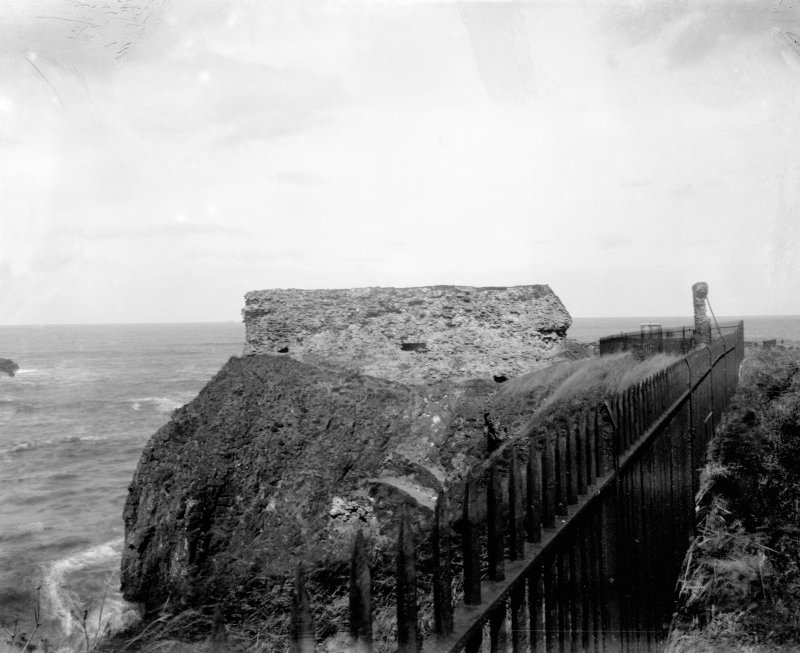 View of blockhouse.