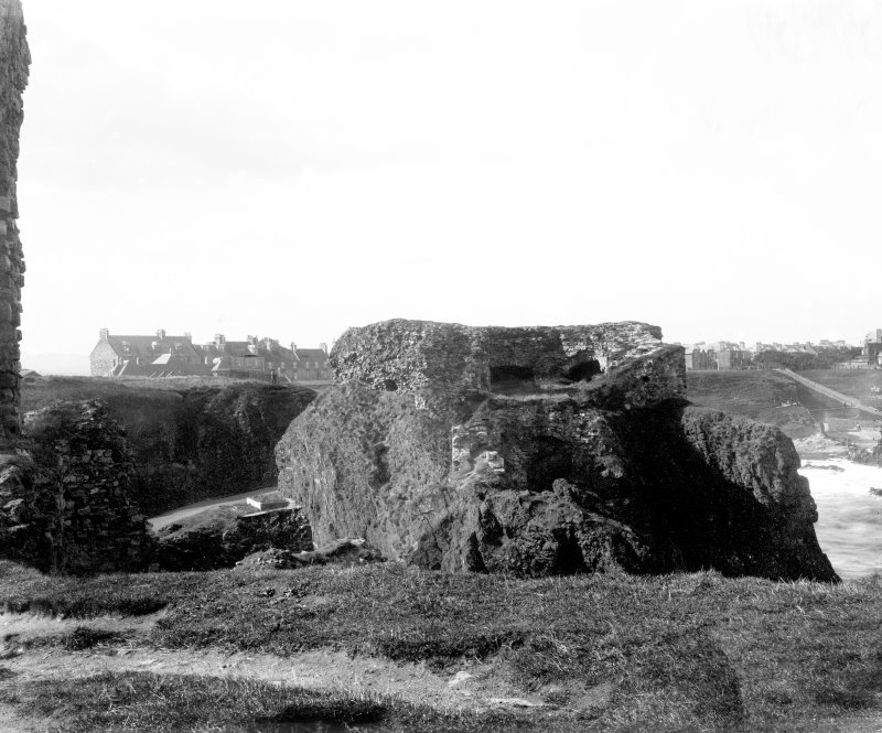 View of blockhouse from E.