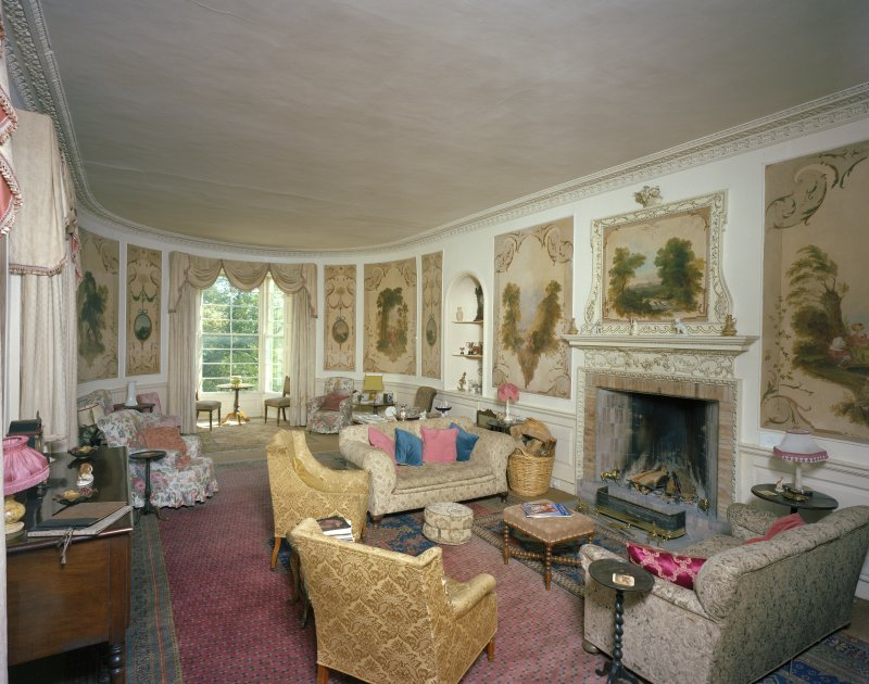 Interior. Drawing Room, general view from North East