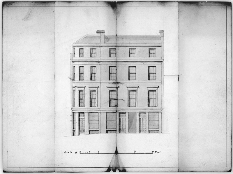 East Elevation of 2 Princes Street.