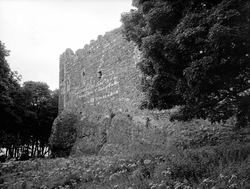 Dunstaffnage Castle. General view from South-West.