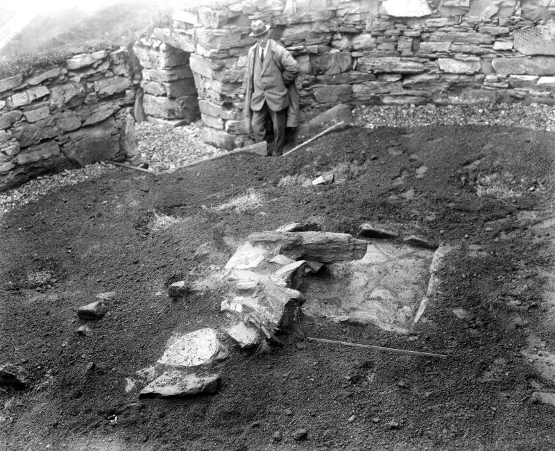 Excavation Photograph: Hearth.
