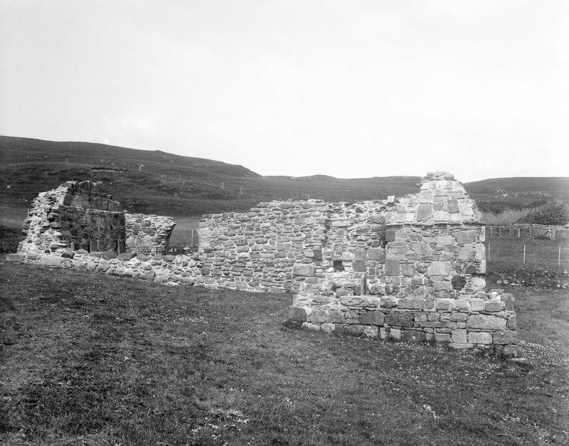 Mull, Inchkenneth Chapel. General view from South.