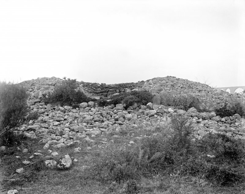 View of north-east cairn.