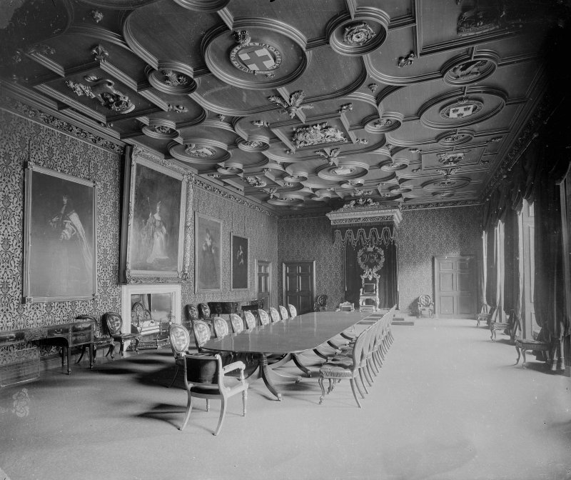 Interior. General view of Throne Room