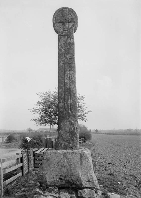 View of Eccles Cross, Crosshall.