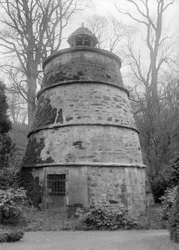 View of dovecot, Mertoun House.