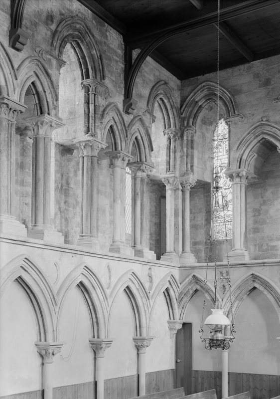Interior. View of NE corner of choir.