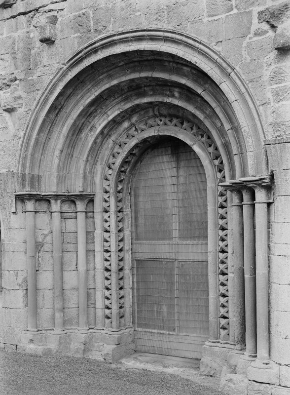 Detail of doorway.