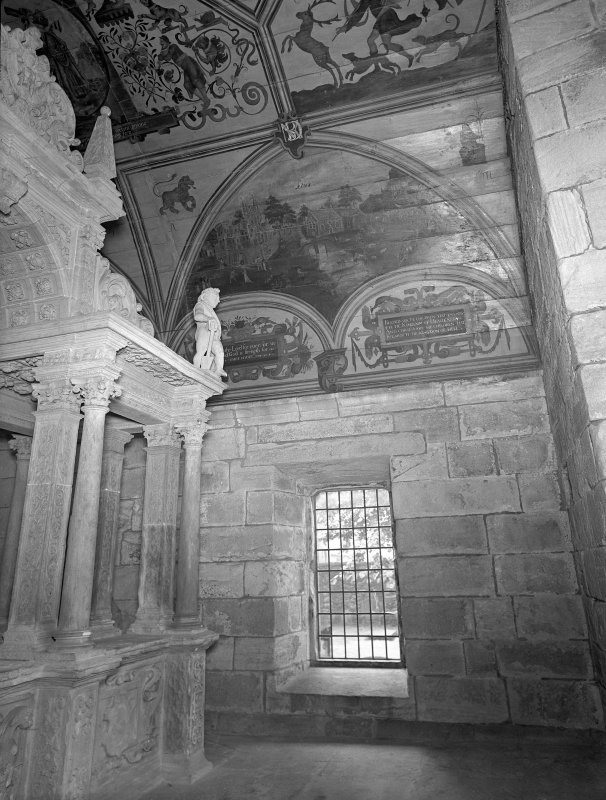Interior. View of vault and Montgomery Monument.