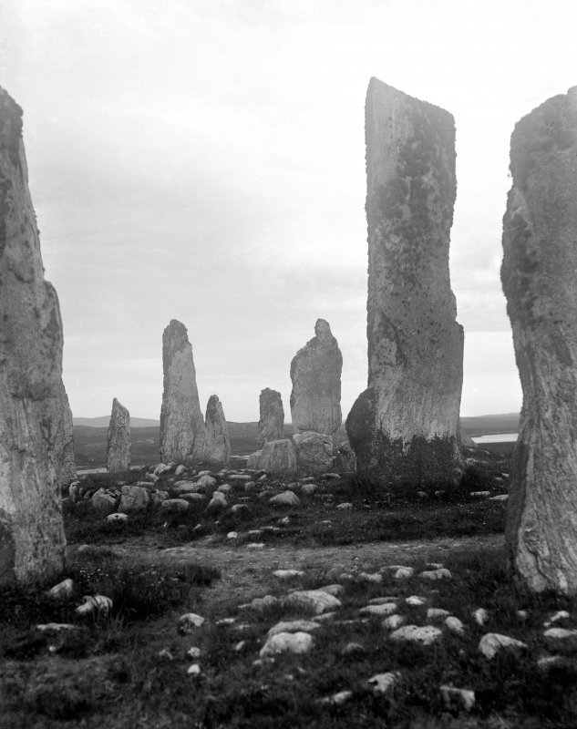 View of central area, Callanish, Lewis.