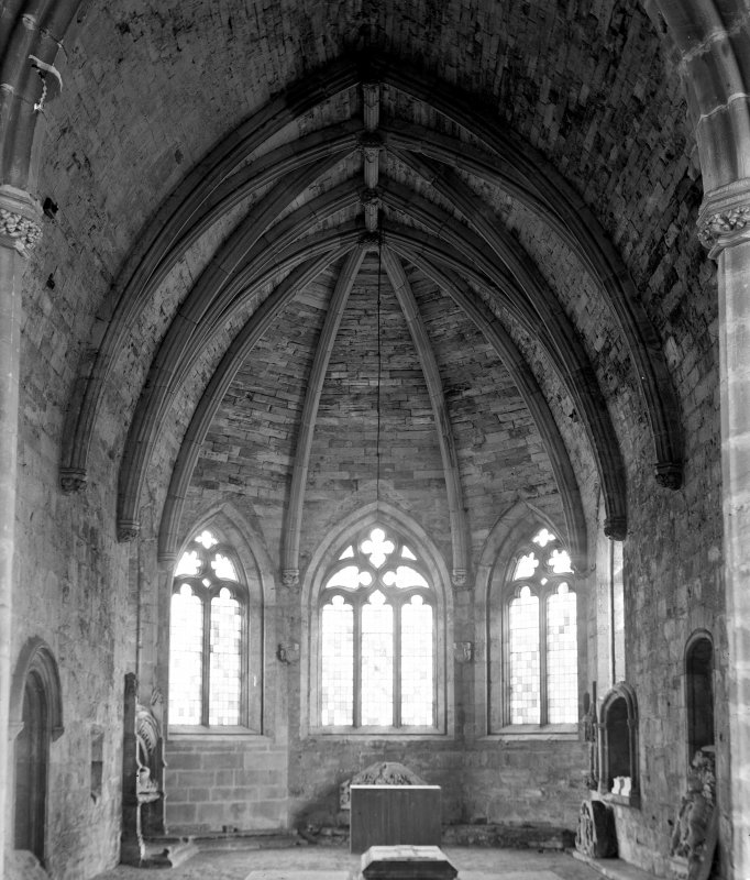 Interior. View from W of choir.