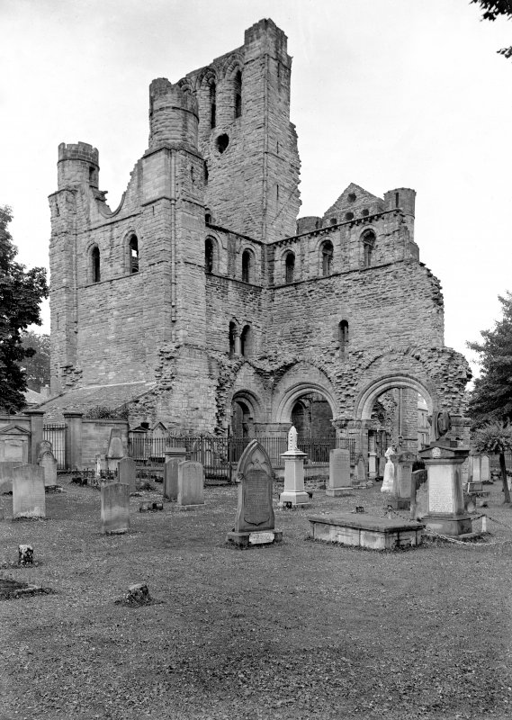 Kelso Abbey. View from SE.