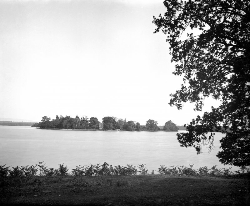 View across lake of Menteith.