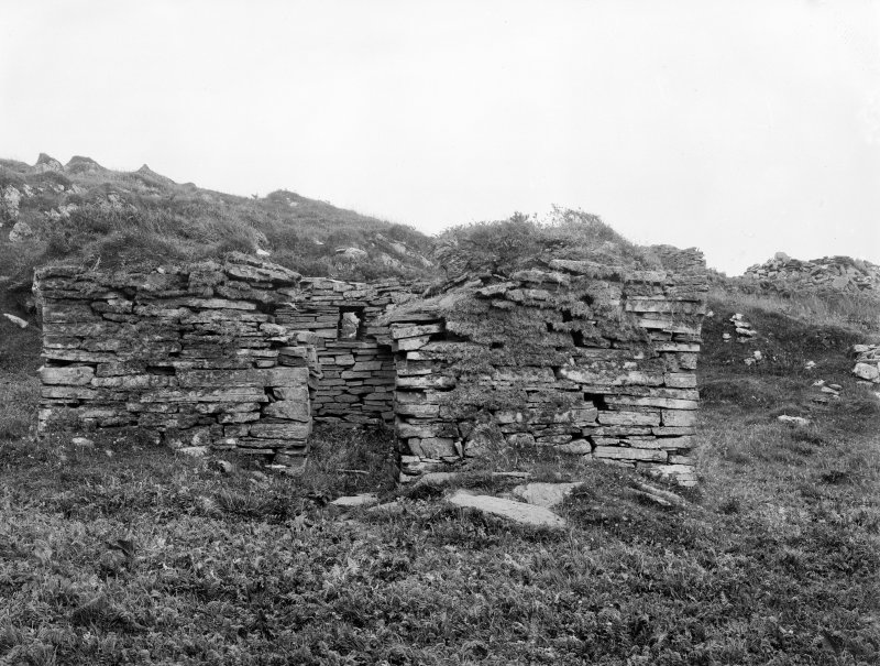 Eileach An Naoimh, Chapel. General view from West.
