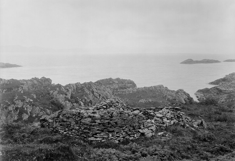 Eileach An Naoimh, The Abbot's House. General view from North-East.