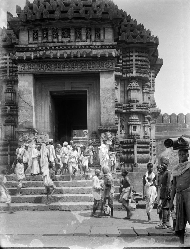 Jagganath Temple, Puri, Orissa.  South entrance (Horse Gate).