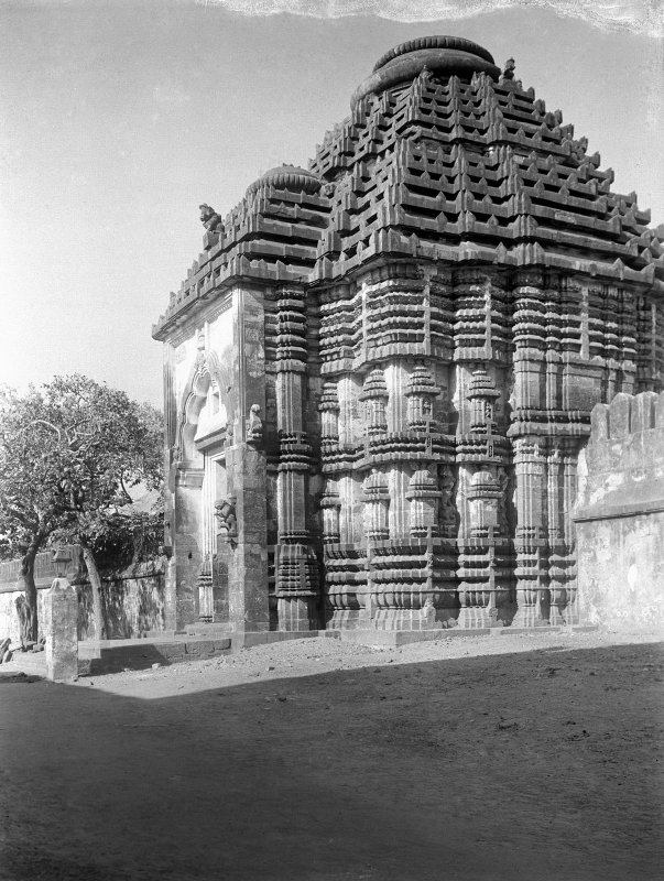 Jagganath Temple, Puri, Orissa.  West entrance (Tiger Gate).