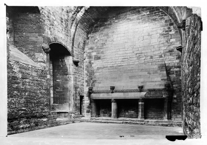 Interior. View of Great Hall.