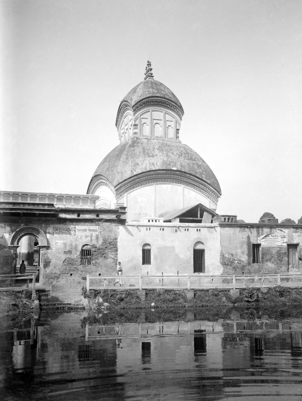 Possibly Kalighat Temple, Kolkata.