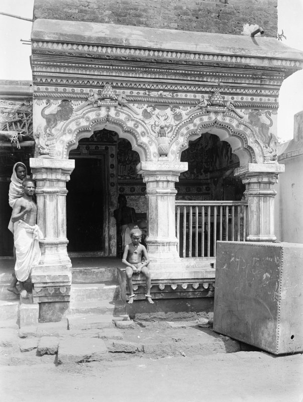 Probable temple building.  Unknown location, possibly in Orissa.