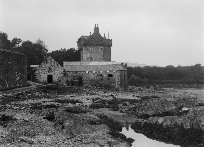 Argyll, Saddell Castle. General view.
