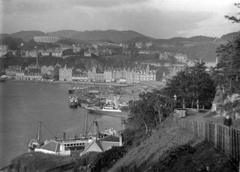 Oban, General View. General view from Pulpit Hill.