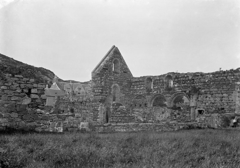 Iona, Iona Nunnery. General view from South-West.