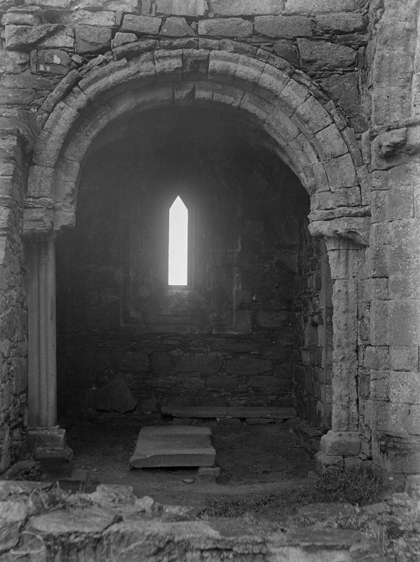 Iona, Iona Nunnery. View of North chapel.