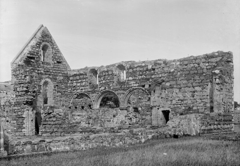 Iona, Iona Nunnery. General view from South-East.