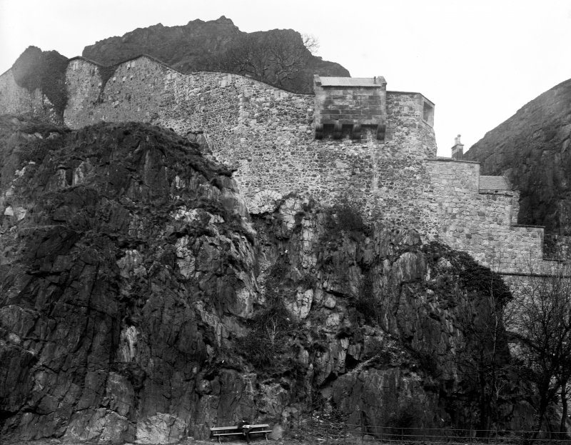 View of S ramparts (after repairs).