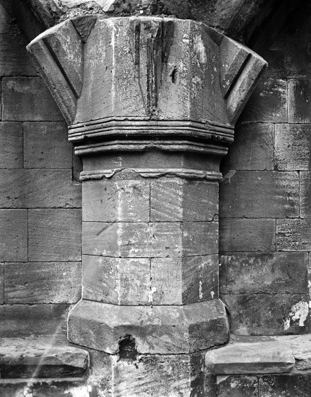 Detail, damaged column