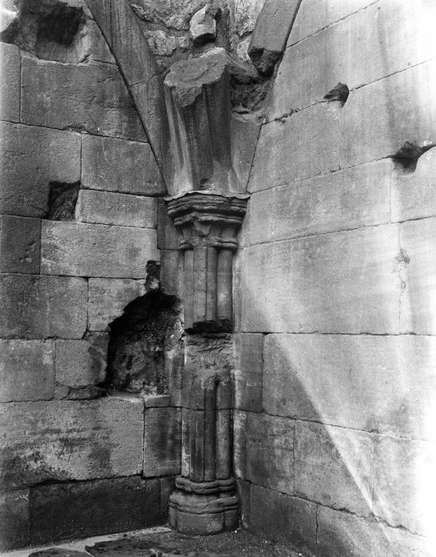 Damaged column