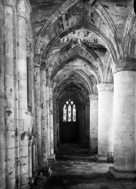 South aisle looking West