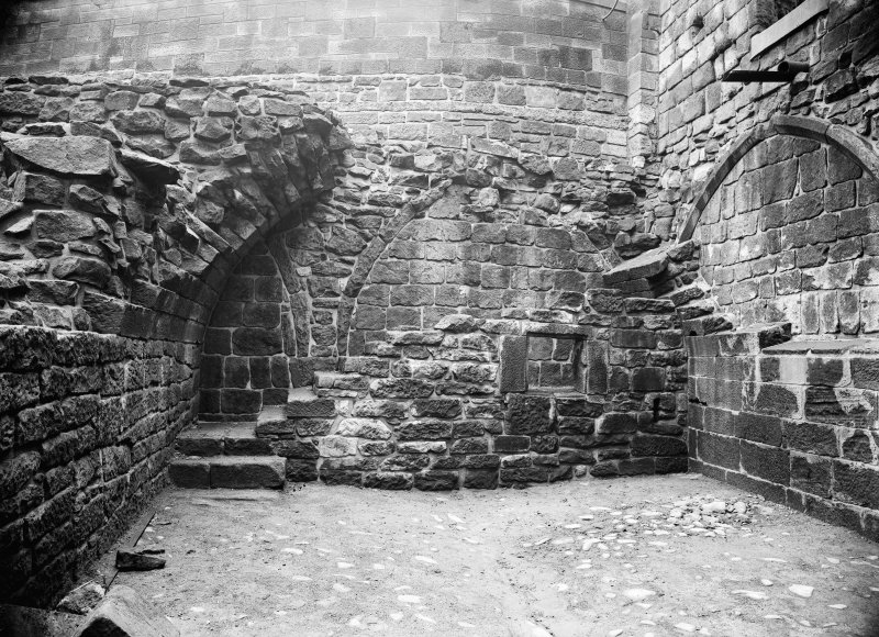 View of chamber at South end