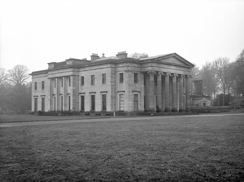 Dundee, Camperdown House. View from South East.