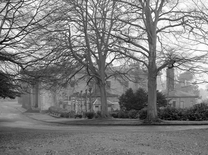 Dundee, Camperdown House. View from North