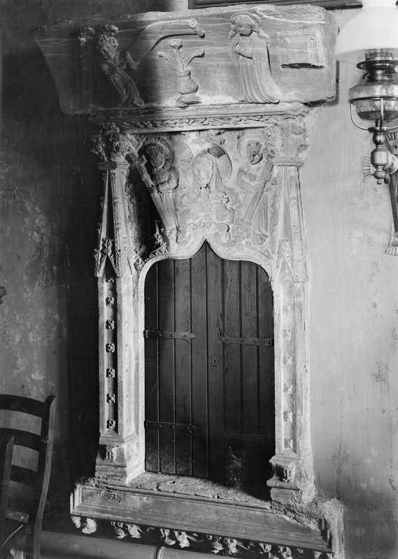 Interior. View of aumbry.