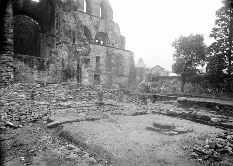Jedburgh Abbey Excavation photograph.