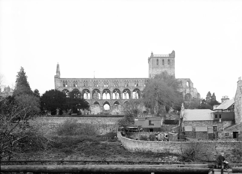 Jedburgh Abbey from the S.