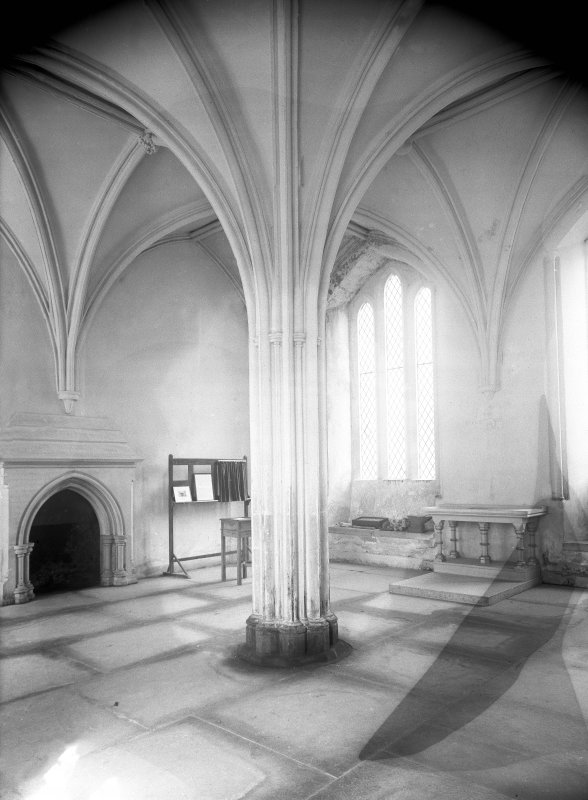 Interior. General view of chapter house.