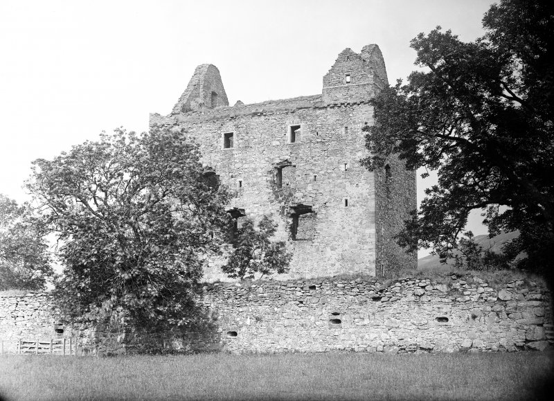 Newark Castle. View from SE.