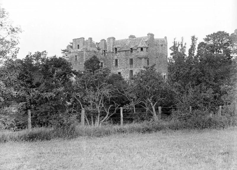 Elcho Castle. General view from South-East.