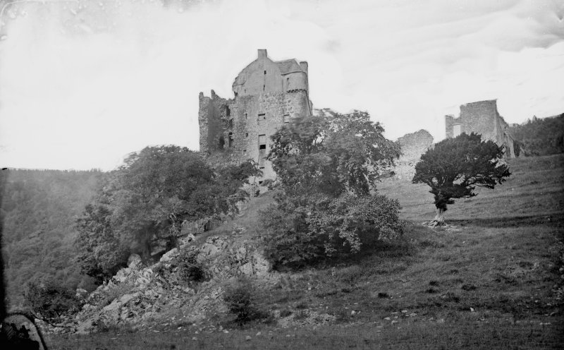 Neidpath Castle View from south