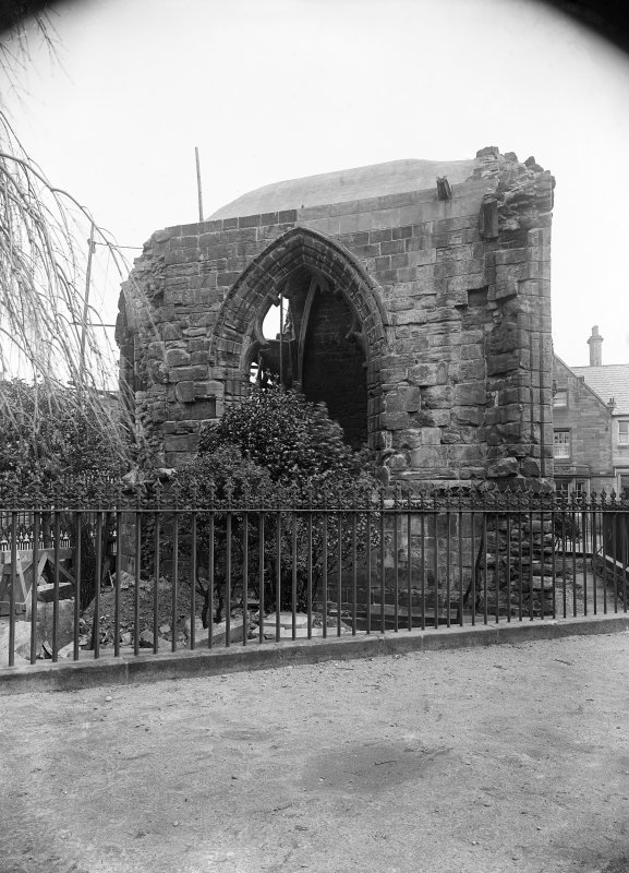 View of Blackfriars Chapel after repairs.