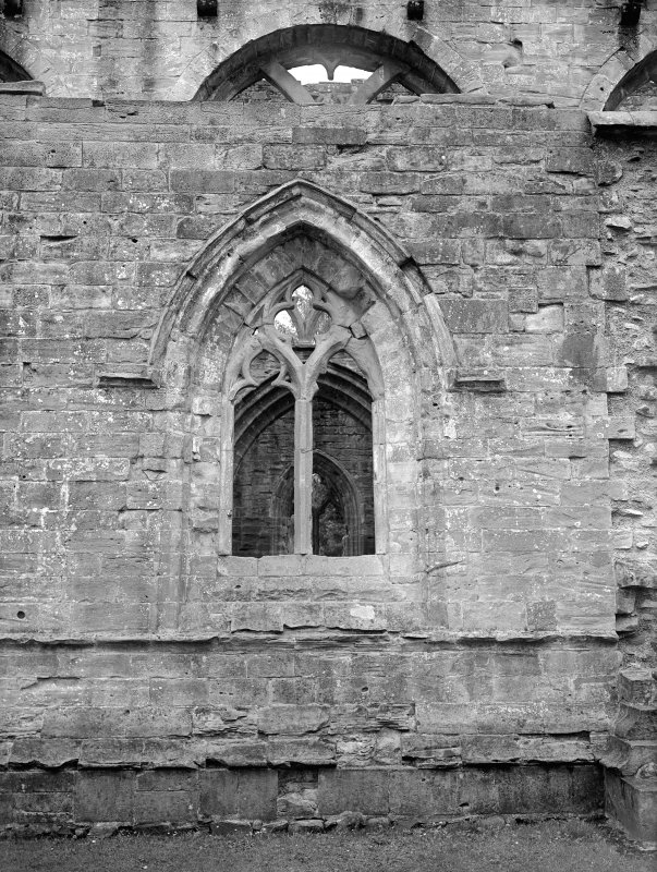 Dunkeld, Dunkeld Cathedral. View of window to aisle.