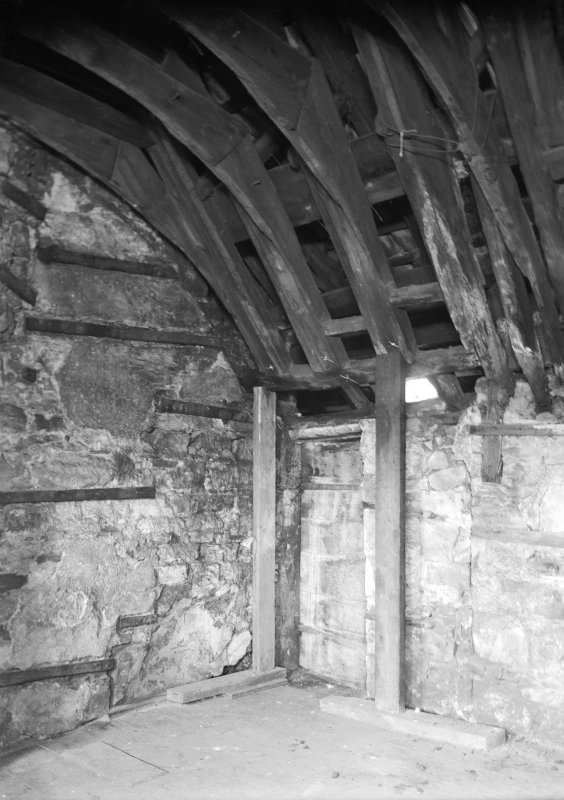 Repairs to wooden vaulting